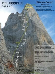norte-oculto-urriellu-alpinismo-escalada-libre-croquis