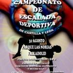 El I Campeonato de Escalada Deportiva de Castilla y León rendirá homenaje a Álvaro Paredes