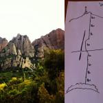 """REPETICION.""""DIRECTA DE L'AMISTAT"""" 8ª/280 m (Montserrat)."""
