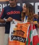 Leire Agirrezabala y Luís Alberto Hernando, campeones de España tras vencer en La Sagra SkyRace