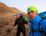 Gran actividad de Edu Marin,Dani Moreno,Marcos y Toti por el Peru.