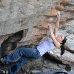 En la nube (V12): El problema mas dificil de Boulder establecido por una mujer?