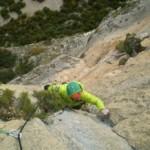 El EEA supera el mal tiempo y finaliza sus concentraciones para el 2013 con nueve vías escaladas en Huesca