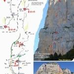 """""""El Señor del Hielo"""" Nueva ruta en Peña Montañesa en recuerdo de Iñaki Cabo."""