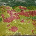 Interesante cartografia para evitar riesgo de aludes en la Cordillera Cantabrica. c