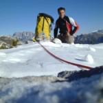 Marco Anghileri fallece en el Pilar Central del Freney en el Mont Blanc