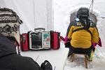 Sobrevivir a la avalancha, lo importante es la densidad de la nieve?