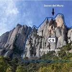 Se podrá escalar en la pared del Aeri de Montserrat
