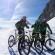 Travesia en Mountabike Courmayeur/Chamonix por el Vallée Blanche