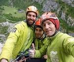 El Equipo Español de Alpinismo escala en la Peña de Sin y en la Peña Montañesa