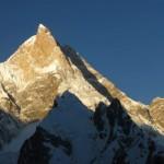 David Lama, Peter Ortner y Hansjörg Auer, a por una nueva línea en el Masherbrum